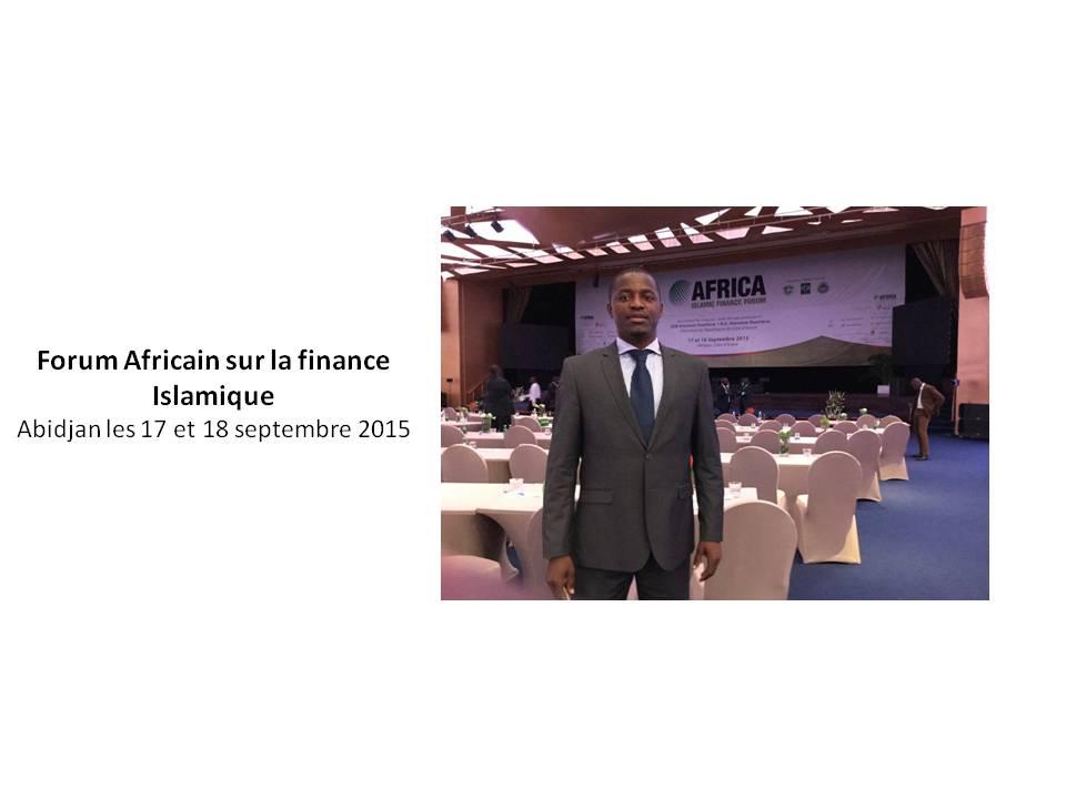 Forum Africain sur la finance Islamique